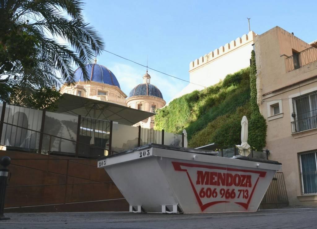 Alquiler de contenedores San Vicente